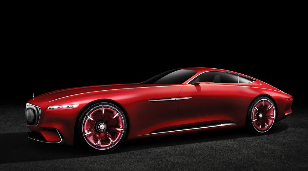 Vision Mercedes-Maybach 6: Studie eines extravaganten Coupés der Luxusklasse; 2016 Vision Mercedes-Maybach 6: Study of an ultra-stylish luxury-class coupé; 2016